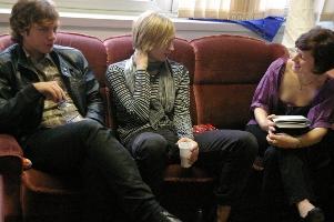 Jonas Karlsson, Carl Norén und ich
