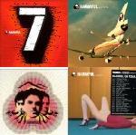 vier aus sieben CDs