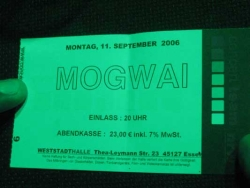 mogwai ticket